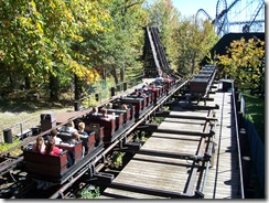 River King Mine Train : Six Flags