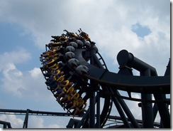 Batman The Ride : Six Flags