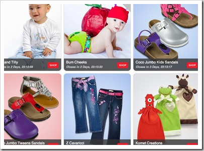 Totsy Deals  Mom and Baby Name Brand Product 80 Off