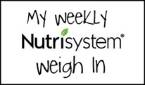 NutriSystem Weekly Weigh In