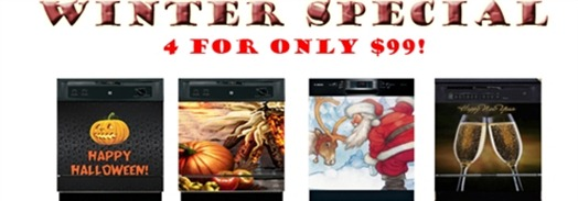 Get 4 Holiday Panels for $99! RV $199