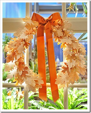 Martha Stewart Fall Wreath