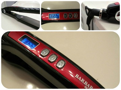 Barbar Hairtools 2300 Titanium Ionic Flat Iron