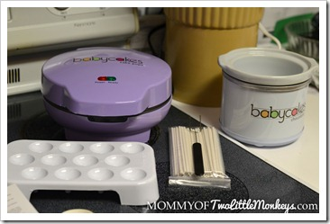 Babycakes Cake Pop Maker and the Babycakes Chocolatier