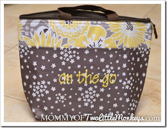 Thirty One Thermal Tote Bag Awesome Blossom