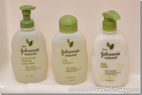 Johnson's Natural Baby Products