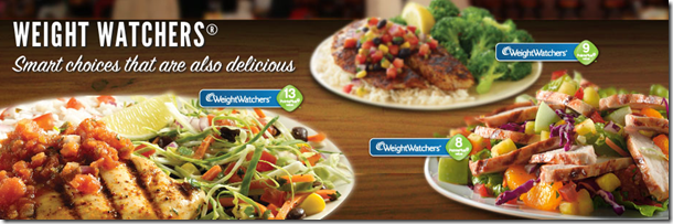 Applebee's Weight Watchers Menu Options