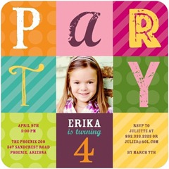 Tiny Prints Party Invitations Sale