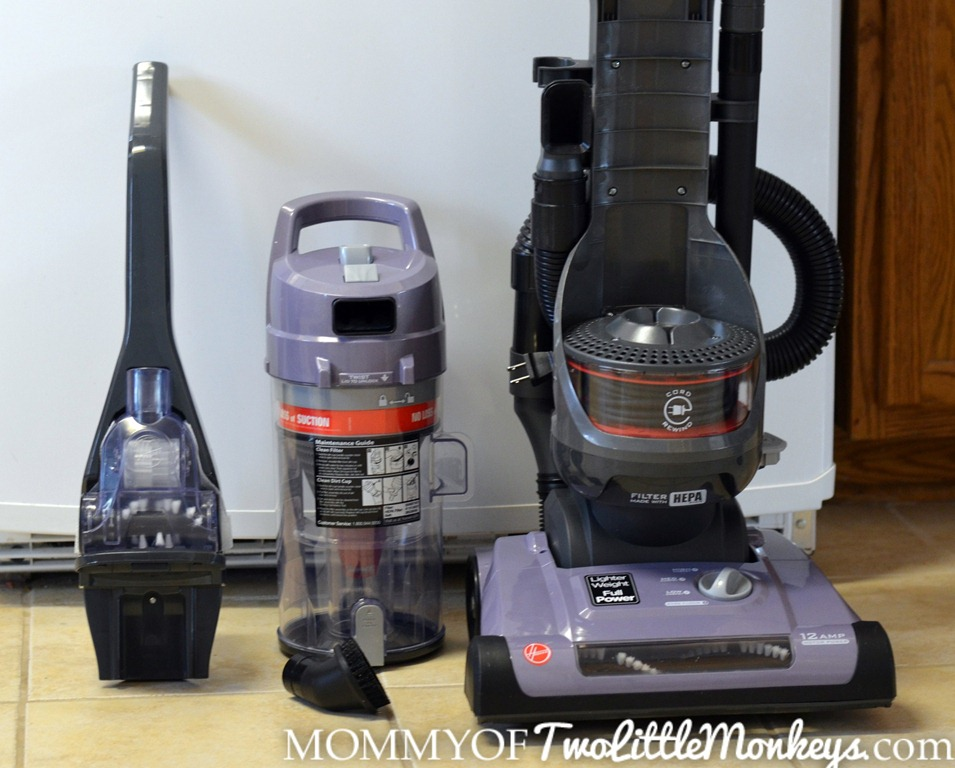 how to clean hoover windtunnel rewind