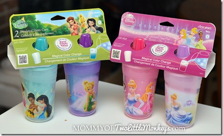 Color Changing Sippy Cups