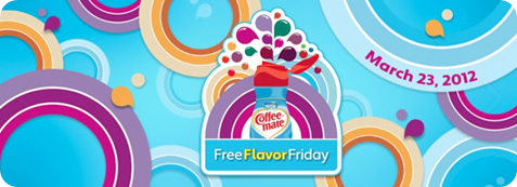 Coffee Mate Free Flavor Friday