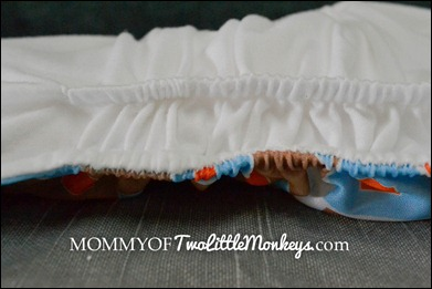 cloth diaper gusset