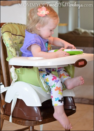Fisher Price Space Saver High Chair Review