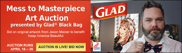 glad auction banner