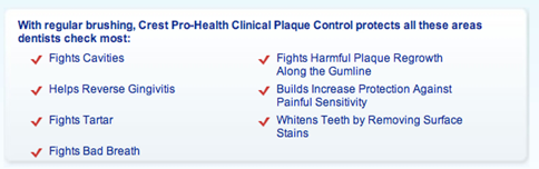 plaque control tooth paste