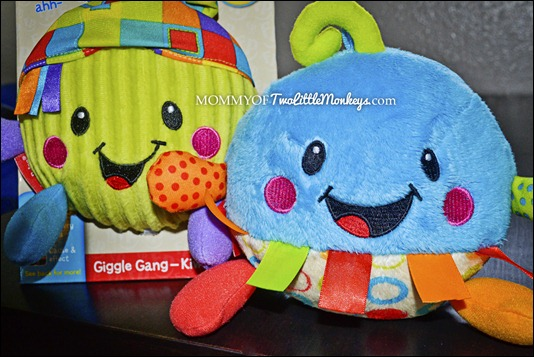 Giggle Gang Blue and Green