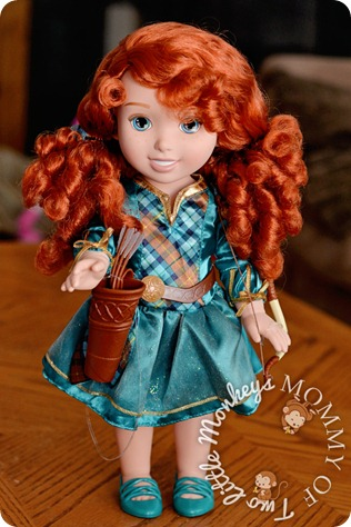 disney princess merida tollytots doll