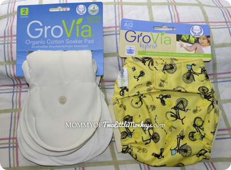 GroVia Hybrid Diaper & Soakers