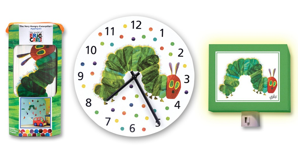 Baby Bash Refresh Your Child S Room With Eric Carle Very Hungry Caterpillar