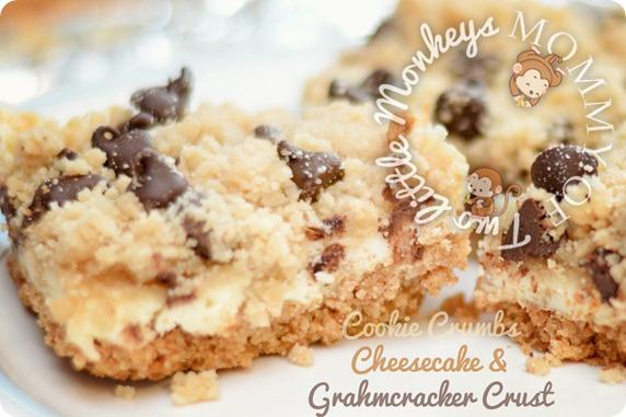 Choc chip cookie dough cheesecake recipe