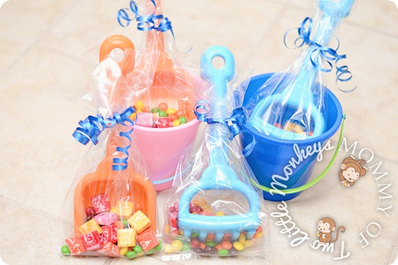 beach theme party luau inspired favors for a child s birthday 12497
