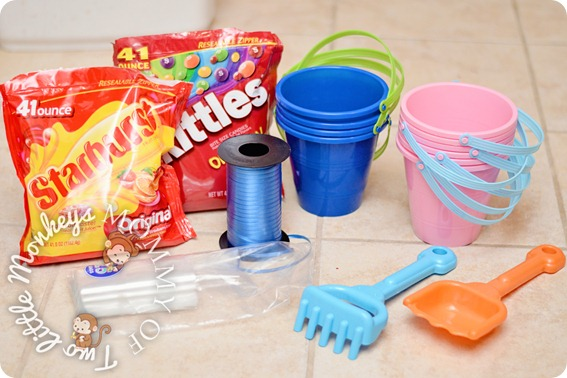 shovels pails and candy