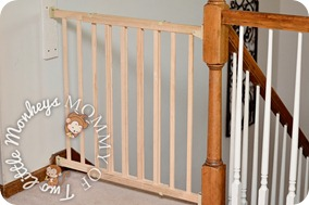 stair baby gate to babyproof