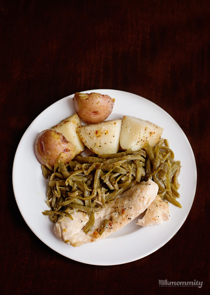 Good Seasons Italian Dressing Chicken, Green Beans & Potatoes Recipe - Even the kids love it! This is a must pin!!