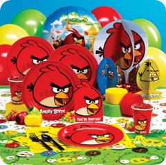 angry birds birthday decorations