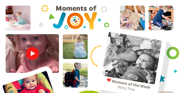moments of joy photo sharing