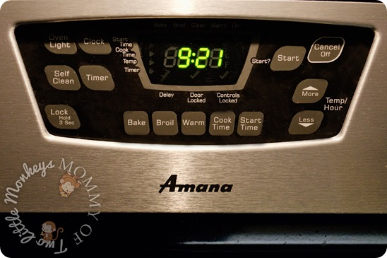 amana self cleaning range