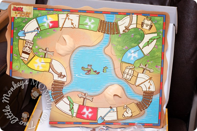 jake and the neverland pirates board game