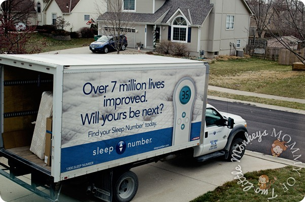 Sleep Number Truck