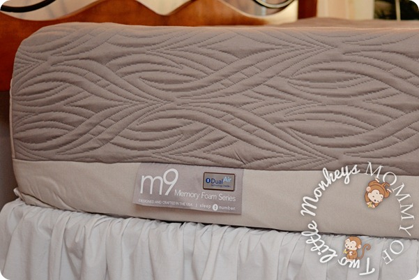 M9 Memory Foam Sleep Number Bed