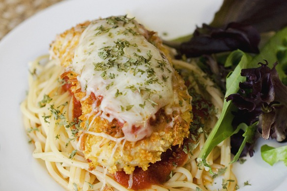 baked chicken parmesan - Kraft Fresh Take