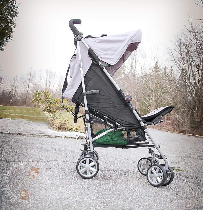Britax B-Nimble Stroller Review   Just in Time for Spring ...