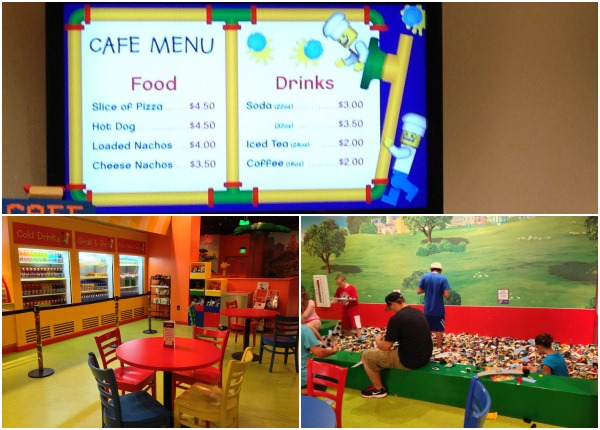 Legoland Kansas City Cafe Menu