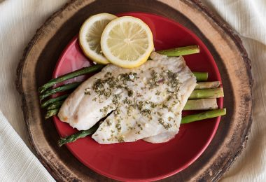Foil Packet Grilled or Baked Lemon & Garlic Tilapia Recipe - Both Options Included!