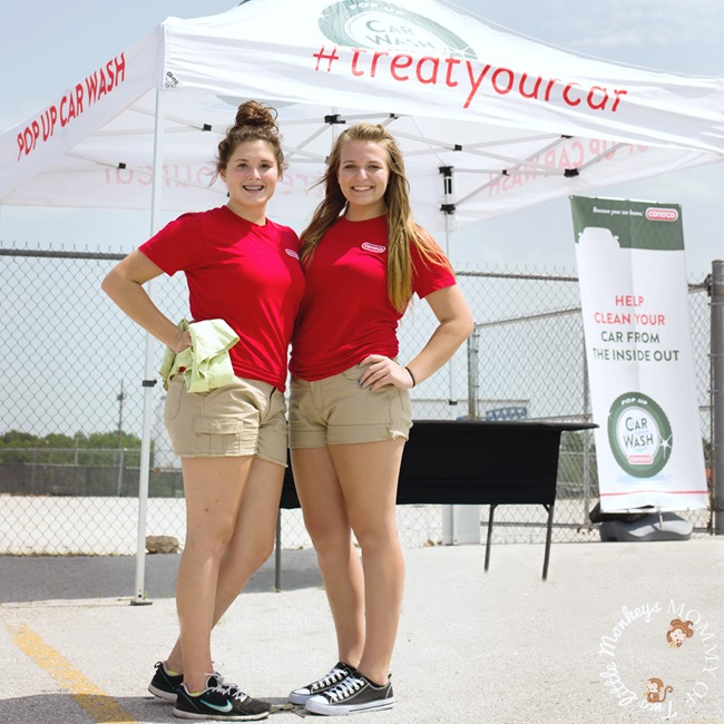 Conoco #treatyourcar Pop-Up Car Wash Event