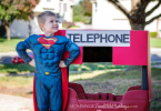 How to Turn a Step2 Wagon into Superman's Telephone Booth – Halloween Prop