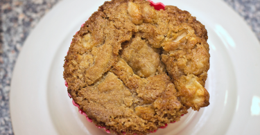 Are you looking for a delicious gluten free muffin recipe? We adapted an apple cake recipe for a gluten free diet and came up with these amazing apple pie muffins that are a huge family hit!