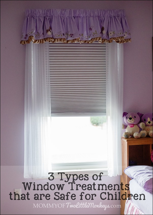 3 types of window treatments that are safe for children for Types of window coverings