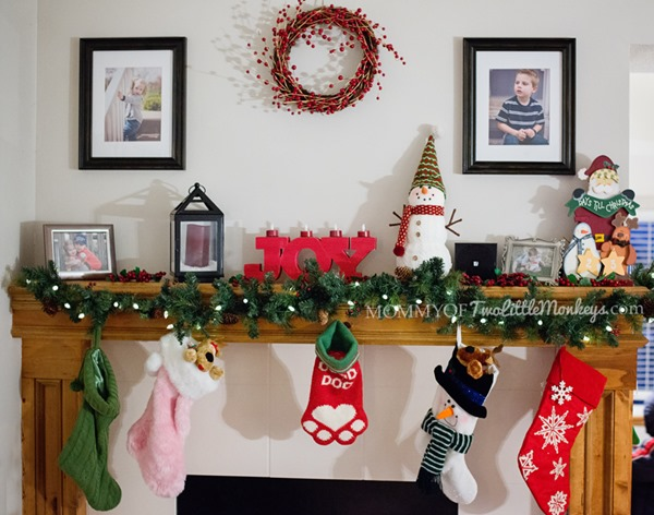 Christmas Mantel Decorations – Soundfreaq Sound Spot Speakers! Sponsored: @Soundfreaq #SoundSpot Bluetooth Speakers