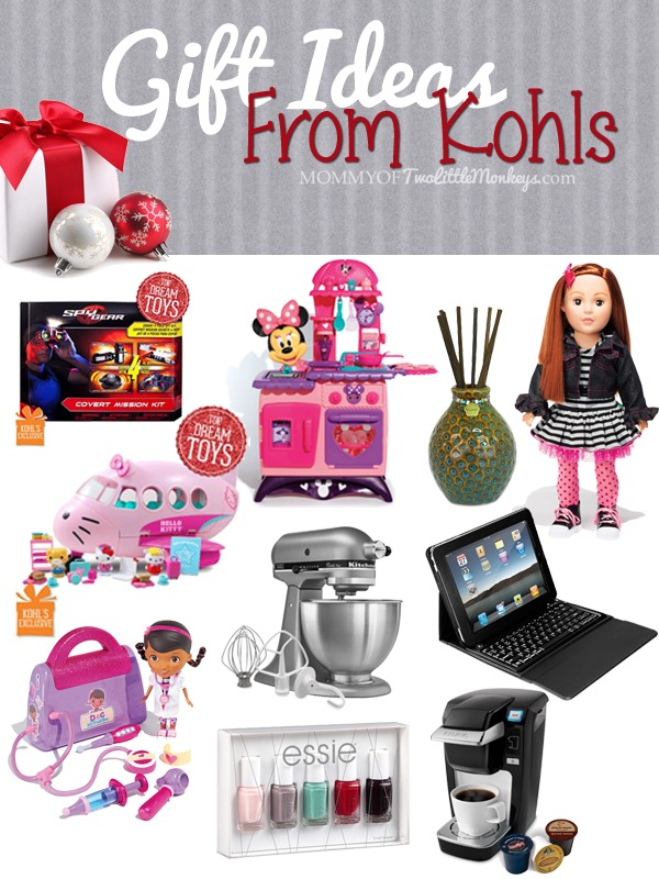 Gift Ideas from Kohls