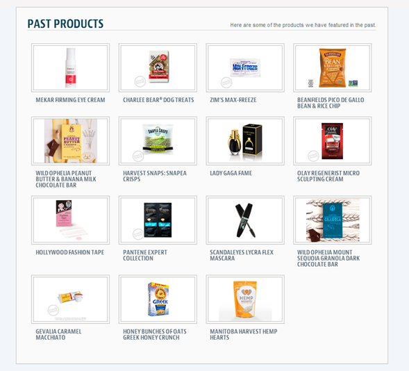 PINCHme Product Sampling Website