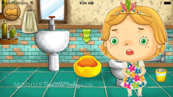 Potty Training : Learning with the Animals App Turns Frustration into Fun