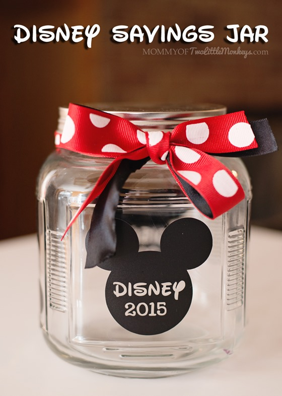 Disney Crafts for Children - Savings Jar