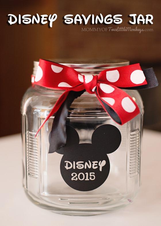 Disney Crafts For Children Savings Jar