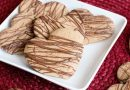 Nut Free SunButter Sugar Cookies with Chocolate Drizzle