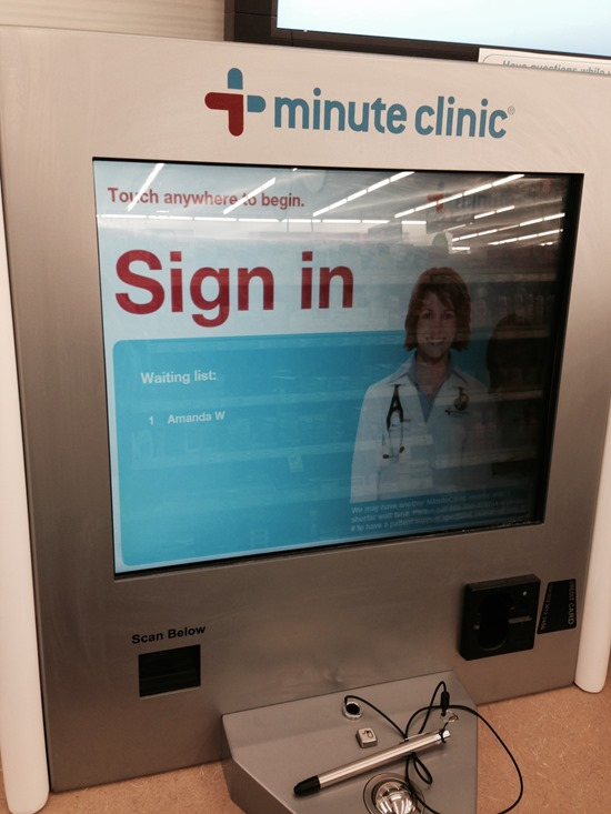 CVS MinuteClinic - Get in and get out! Perfect for every busy mom